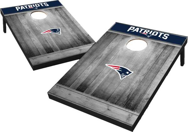New England Patriots Grey Wood Tailgate Toss product image