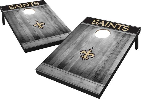 New Orleans Saints Grey Wood Tailgate Toss product image
