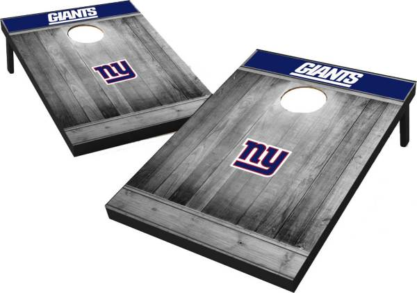 New York Giants Grey Wood Tailgate Toss product image