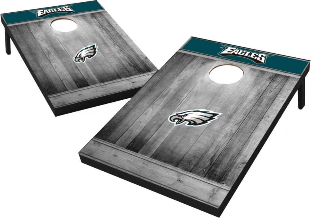 new concept 245a8 f0321 Philadelphia Eagles Grey Wood Tailgate Toss