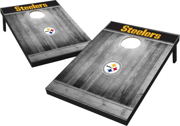 Pittsburgh Steelers Grey Wood Tailgate Toss product image