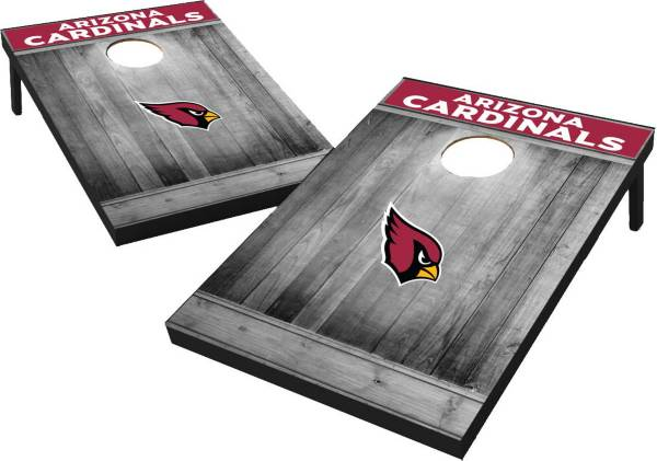 Wild Sports Arizona Cardinals Grey Wood Tailgate Toss product image