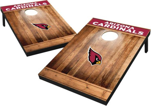 Wild Sports Arizona Cardinals Brown Wood Tailgate Toss product image