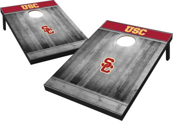 Wild Sports USC Trojans NCAA Grey Wood Tailgate Toss product image
