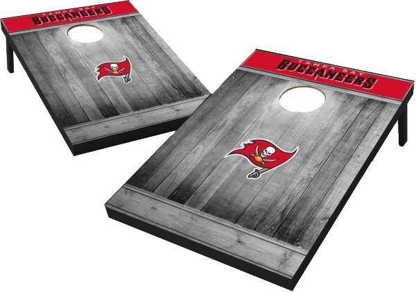 Tampa Bay Buccaneers Grey Wood Tailgate Toss product image