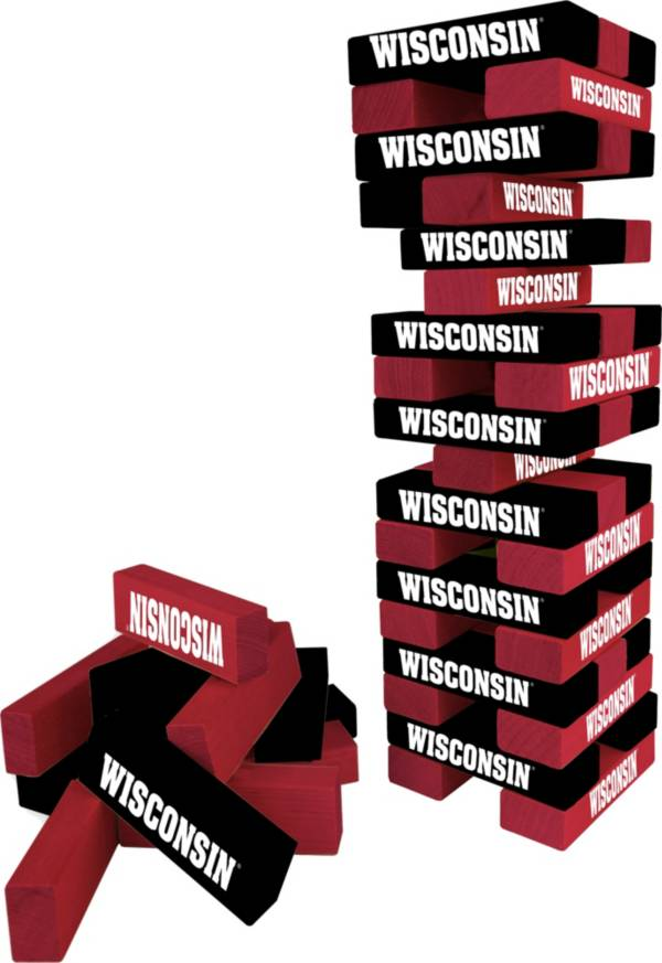 Wild Sports Wisconsin Badgers Table Top Stackers product image