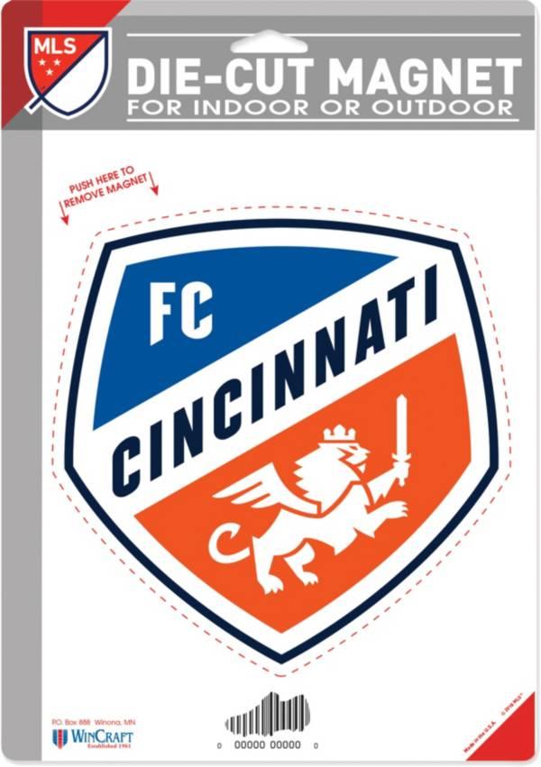 """WinCraft FC Cincinnati 6"""" x 9"""" Magnet product image"""