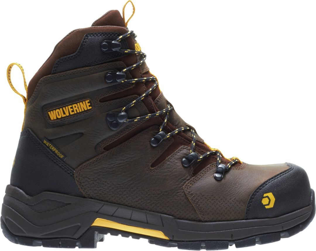 a8ccb8169bf Wolverine Men's Contractor LX 8'' CarbonMAX Waterproof Composite Toe ...