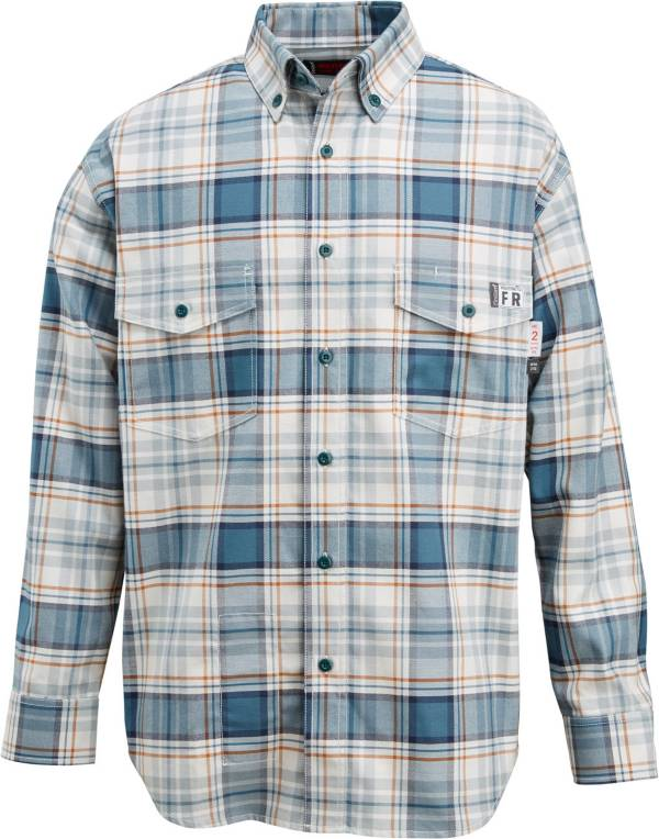 Wolverine Men's FireZero Flame Resistant 5.8 oz. Plaid Long Sleeve Twill Shirt product image
