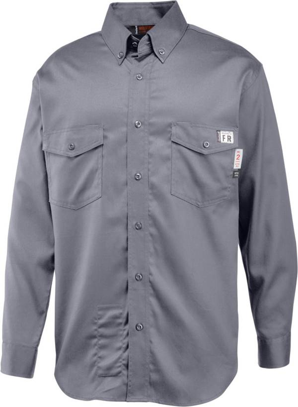 Wolverine Men's FireZero Twill Button Down Long Sleeve Shirt product image