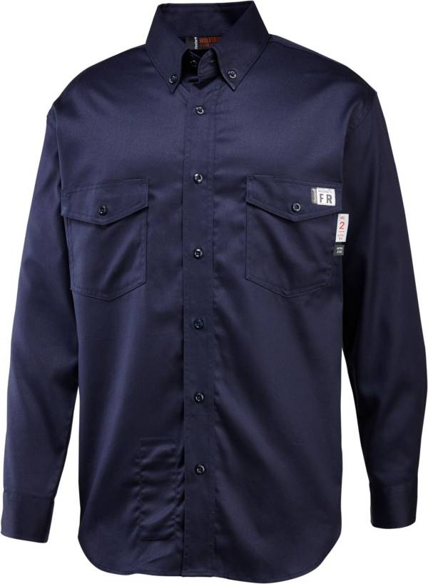 Wolverine Men's FireZero Twill Button Down Long Sleeve Shirt product image