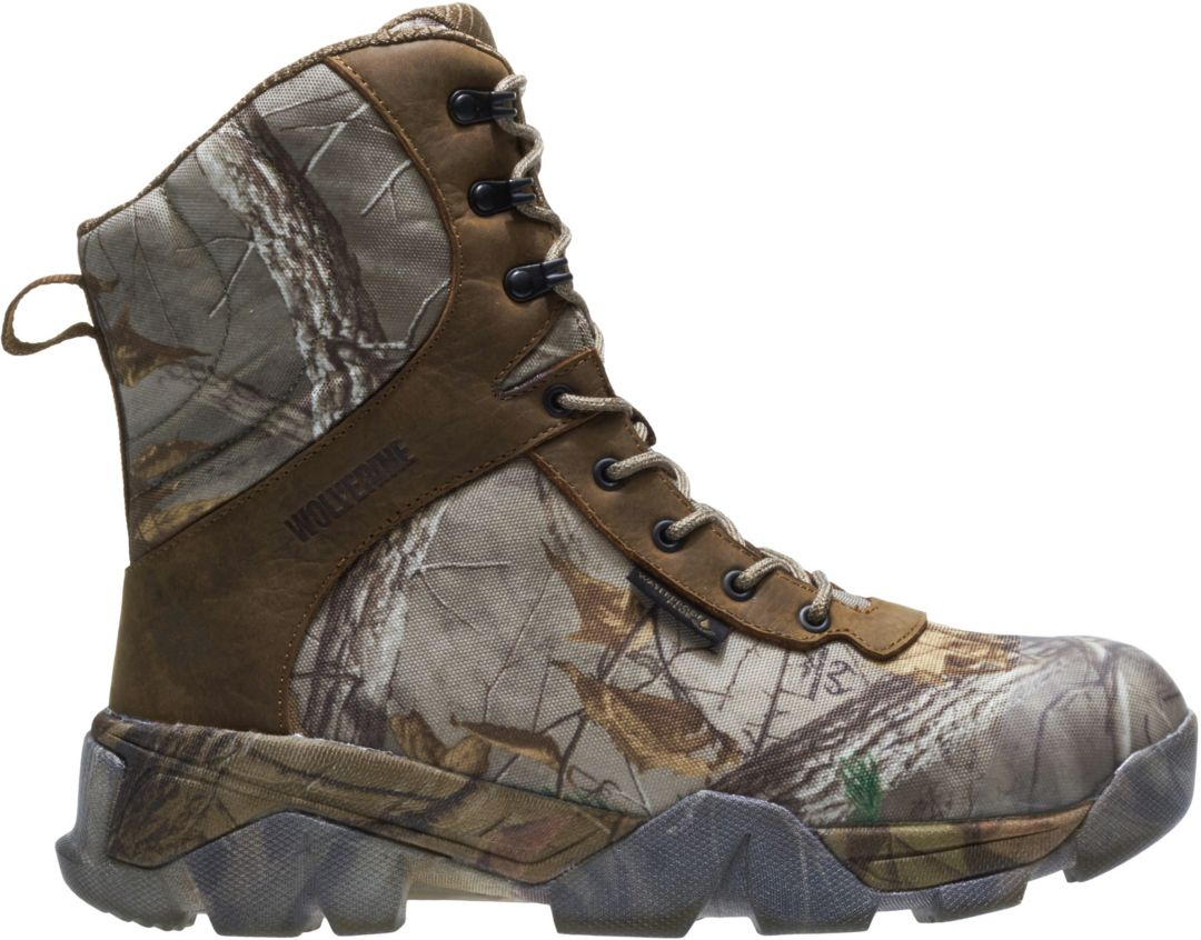 f3d1239c3b4 Wolverine Men's Archer 2 EPX Realtree EDGE 8'' 400g Waterproof Hunting Boots