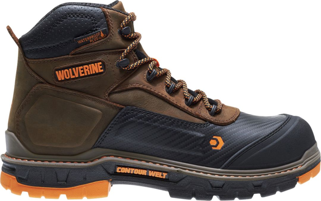17da619391bd Wolverine Men's Overpass CarbonMAX 6'' Waterproof Composite Toe Work ...