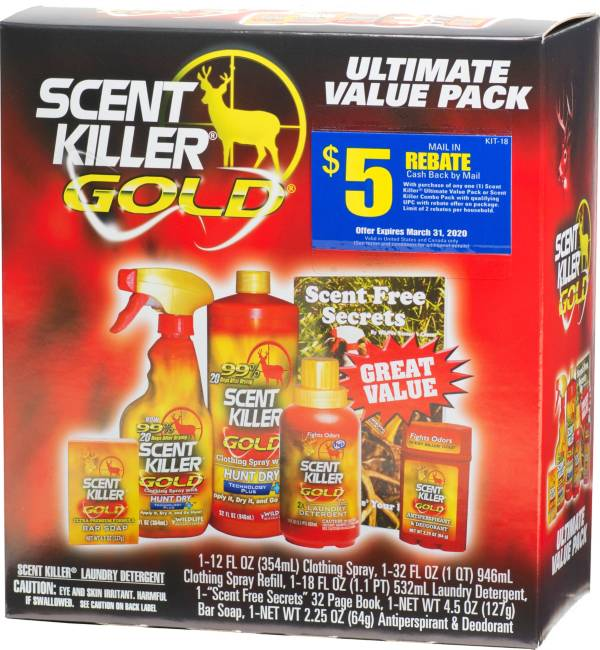 Wildlife Research Scent Killer Gold Ultimate Value Pack product image