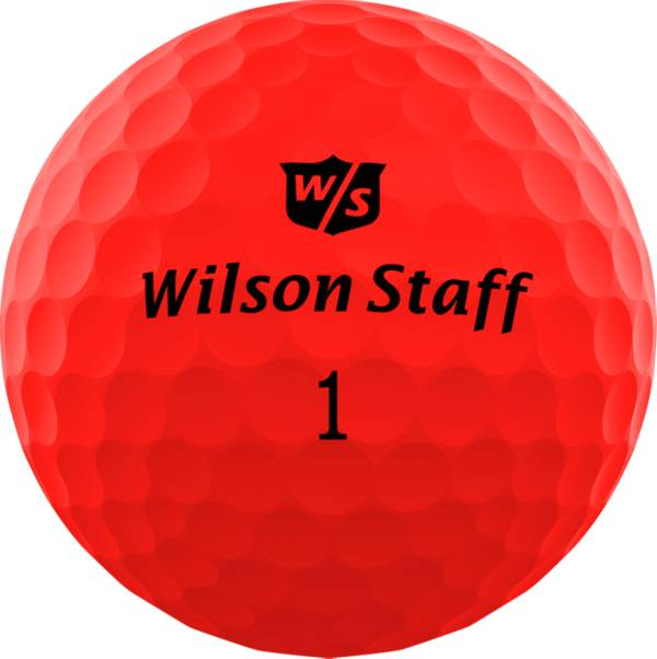 Wilson Staff Duo Soft Optix Red Golf Balls product image