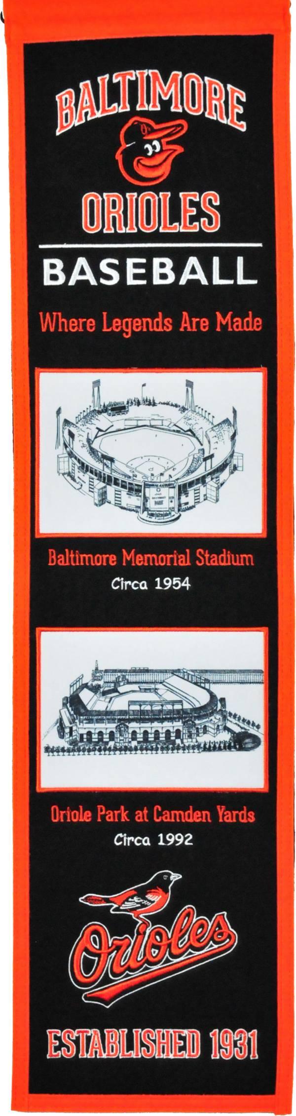 Winning Streak Sports Baltimore Orioles Stadium Evolution Banner product image
