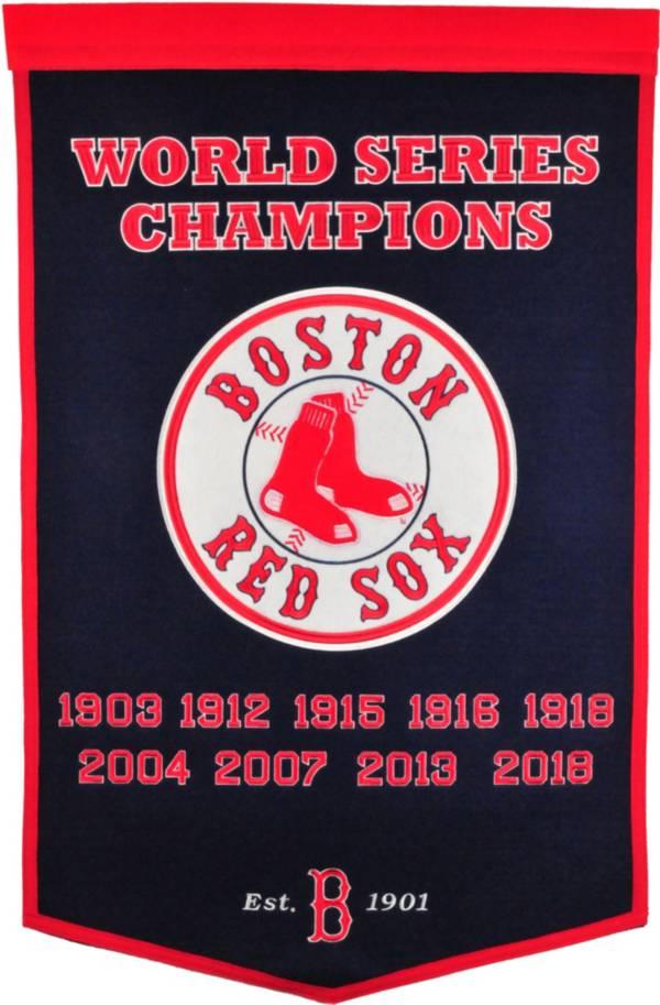Winning Streak Sports 2018 World Series Champions Boston Red Sox Dynasty Banner product image