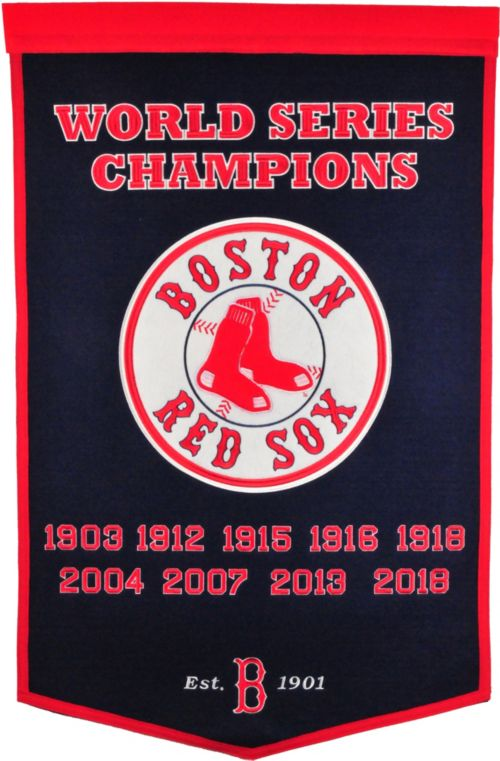 f5f73a42f5892 Winning Streak Sports 2018 World Series Champions Boston Red Sox Dynasty  Banner. noImageFound. Previous