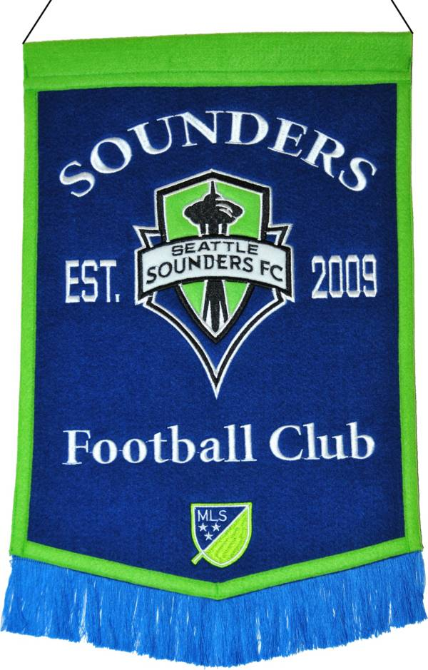 Winning Streak Sports Seattle Sounders Vintage Ballpark Banner product image