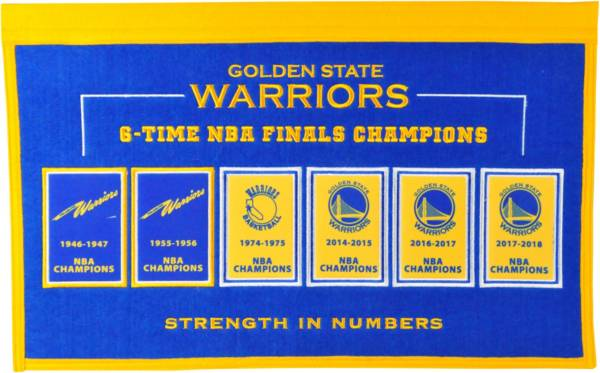 Winning Streak Sports Golden State Warriors Repeat Rafter Banner product image