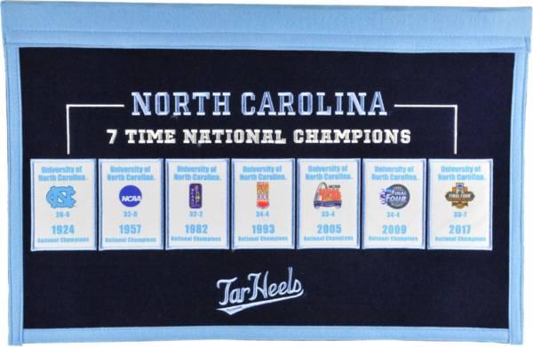 Winning Streak Sports North Carolina Tar Heels Repeat Rafter Banner product image