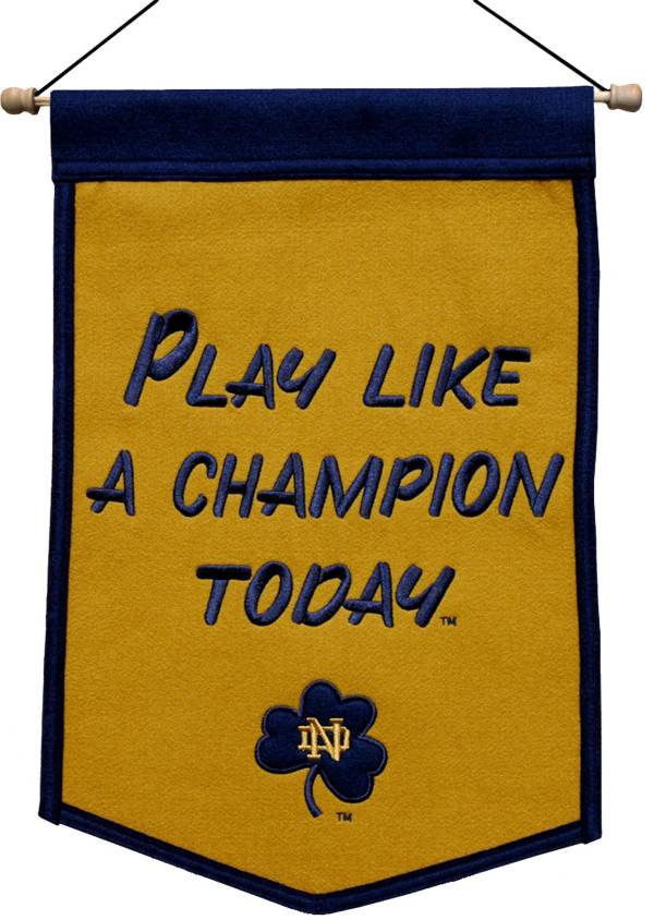 Winning Streak Sports Notre Dame Fighting Irish Tradition Pennant product image