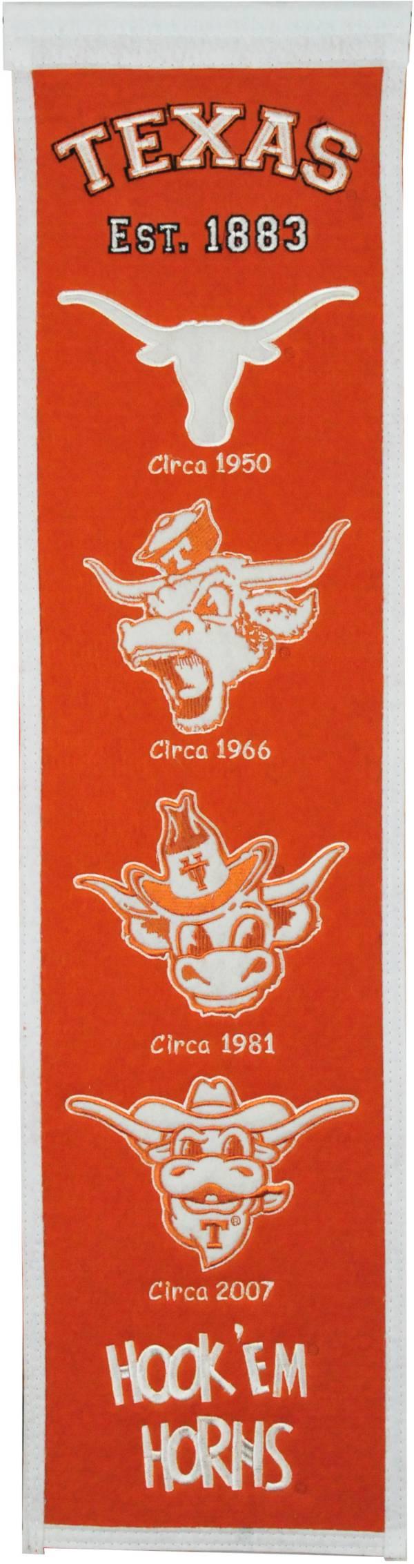 Winning Streak Sports Texas Longhorns Heritage Banner product image