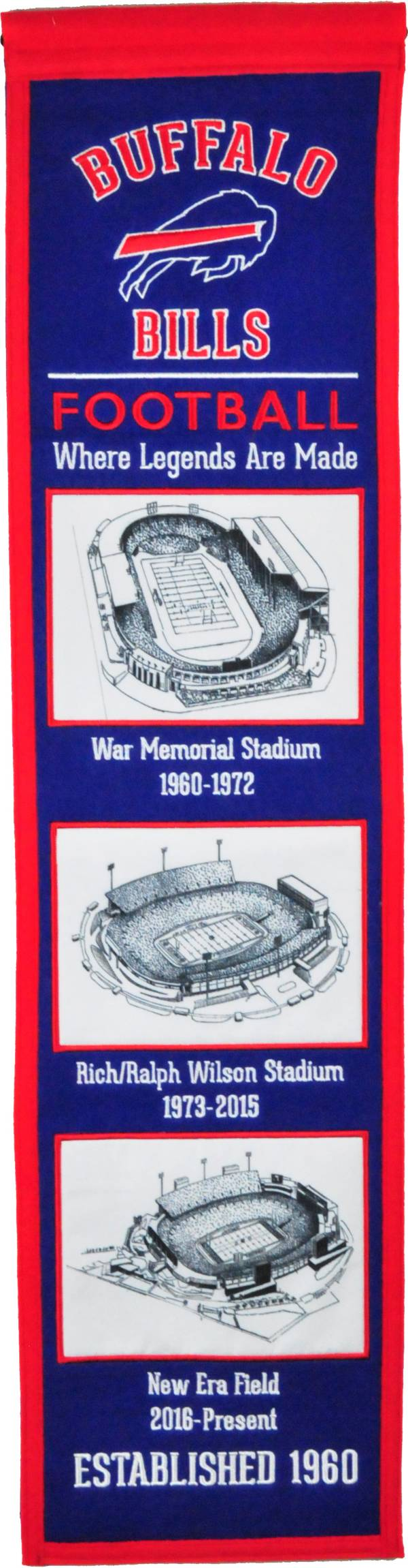 Winning Streak Sports Buffalo Bills Stadium Evolution Banner product image