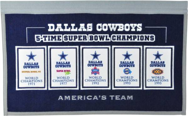 Winning Streak Sports Dallas Cowboys Repeat Rafter Banner product image