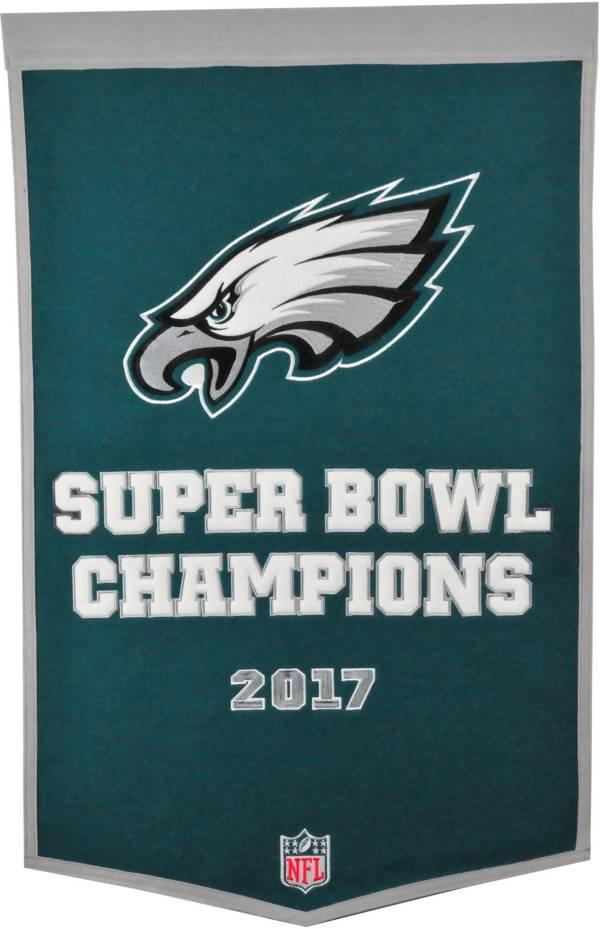 Winning Streak Sports Super Bowl LII Champions Philadelphia Eagles Dynasty Year Banner product image