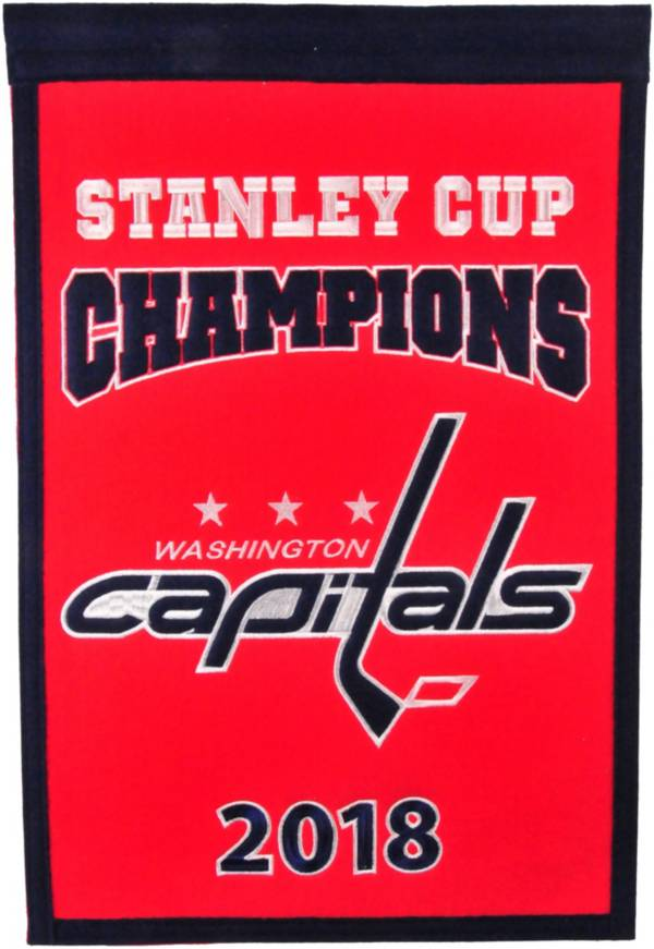 Winning Streak Sports 2018 Stanley Cup Champions Washington Capitals Champions Banner product image