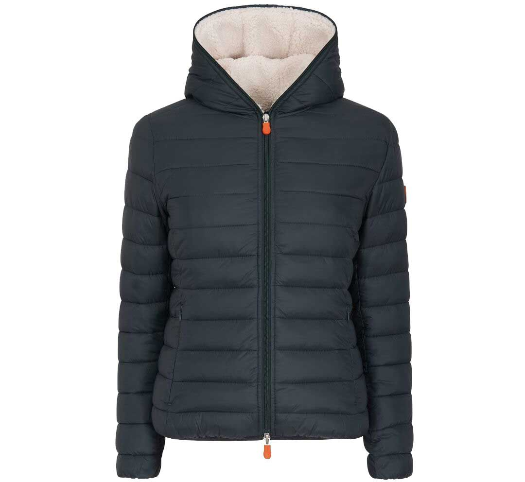 newest collection bfbfa 7647c Save The Duck Women's Giga Hooded Jacket