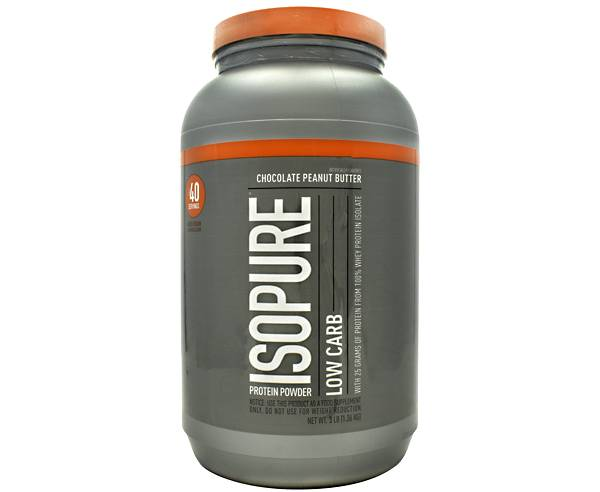 Isopure Low Carb Protein Powder Chocolate Peanut Butter 42 Servings product image
