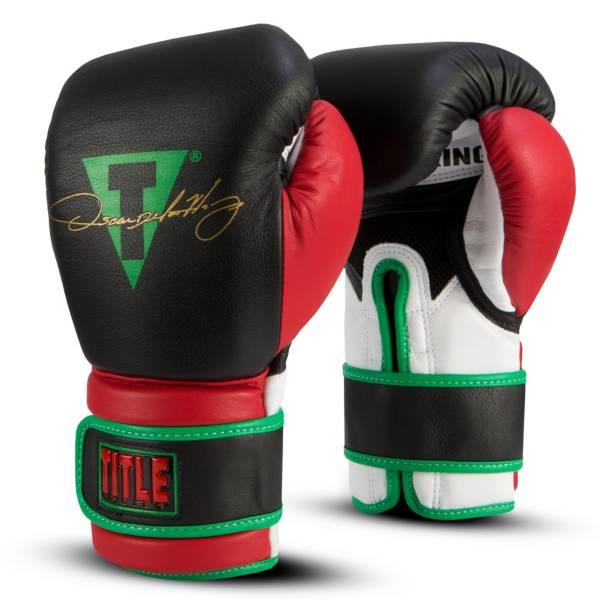 TITLE Oscar De La Hoya Signature Bag Gloves product image