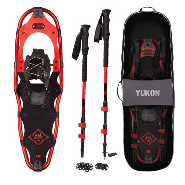 Yukon Charlie's Adult Advanced Spin Snowshoe Kit product image