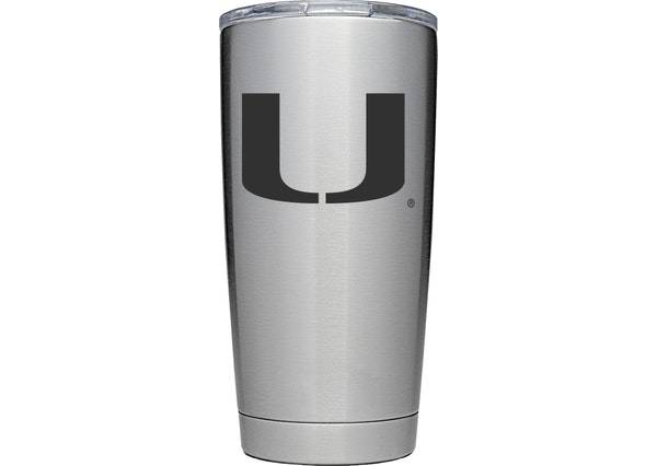 YETI Miami Hurricanes 20 oz. Rambler Tumbler with MagSlider Lid product image