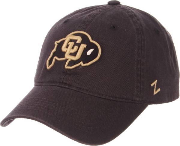 Zephyr Men's Colorado Buffaloes Grey Scholarship Adjustable Hat product image