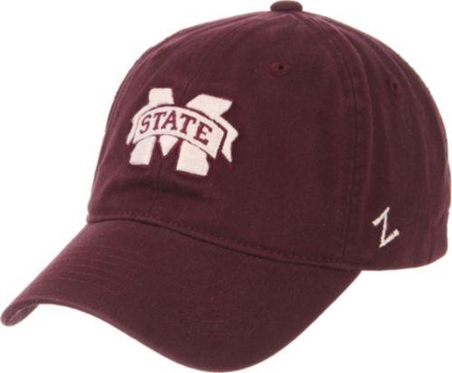 0db8d2c2668 Zephyr Men s Mississippi State Bulldogs Maroon Scholarship Adjustable Hat