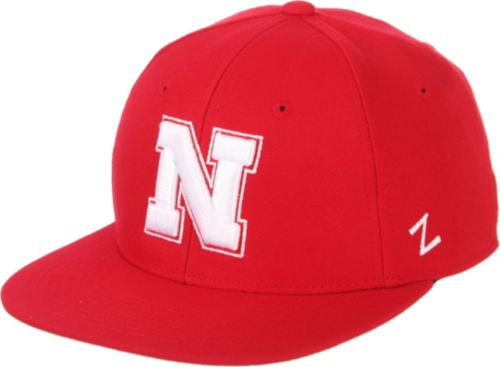 best cheap ac175 c90ac Zephyr Men s Nebraska Cornhuskers Scarlet M15 Fitted Hat   DICK S ...