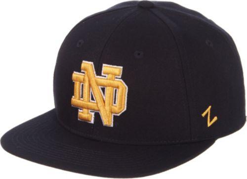 70e67bd920d68 Zephyr Men s Notre Dame Fighting Irish Navy M15 Fitted Hat. noImageFound.  Previous. 1