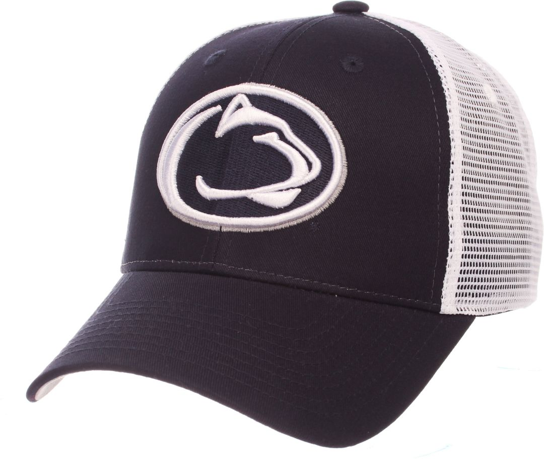 low priced 03367 41601 Zephyr Men s Penn State Nittany Lions Blue White Big Rig Adjustable Hat.  noImageFound. Previous. 1