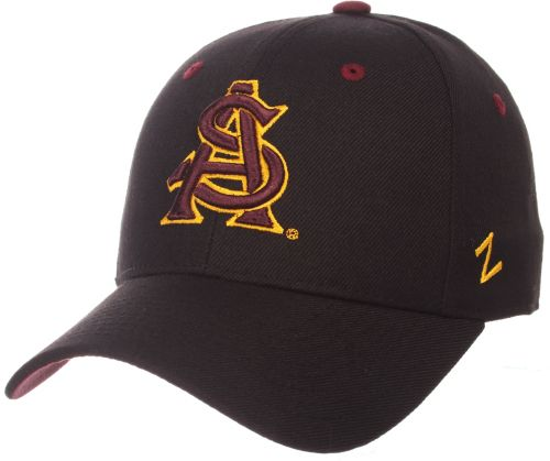 premium selection 92dfd feae6 Zephyr Men s Arizona State Sun Devils Element II Adjustable Black Hat.  noImageFound. Previous
