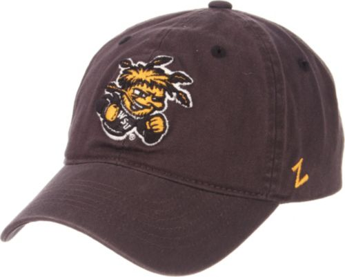 buy online a7e08 ddb1b Zephyr Men s Wichita State Shockers Grey Scholarship Adjustable Hat.  noImageFound. Previous