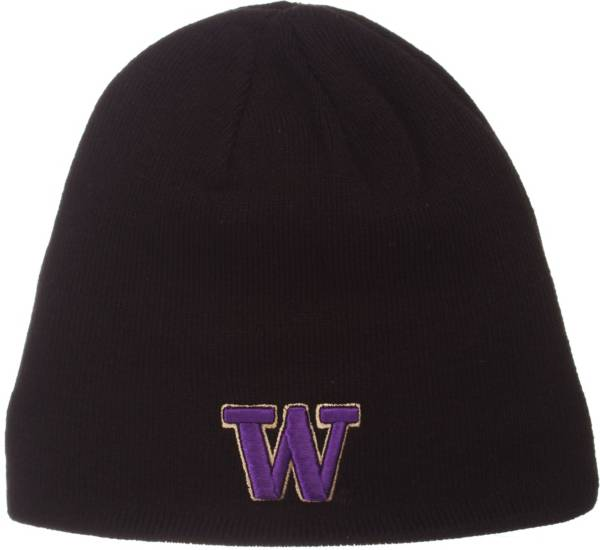 Zephyr Men's Washington Huskies Knit Black Beanie product image