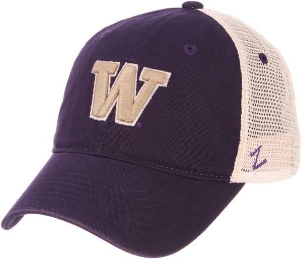 Zephyr Men's Washington Huskies Purple/White University Trucker Hat product image