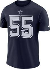 Nike Men's Dallas Cowboys Leighton Vander Esch #55 Logo Navy T-Shirt product image