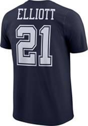 Nike Youth Dallas Cowboys Ezekiel Elliott #21 Logo Navy T-Shirt product image