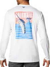 Columbia Men's Terminal Tackle Vintage Fishing Long Sleeve T-Shirt product image