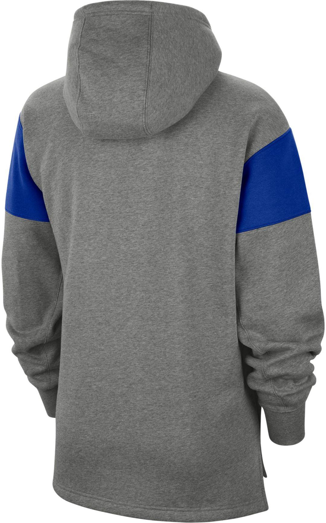 reputable site f5fe7 406bf Nike Men's Dallas Cowboys Historic Pullover Grey Hoodie