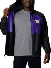 Columbia Men's Washington Huskies Black Flash Forward Full-Zip Jacket product image